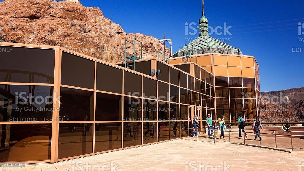 Hoover Dam Visitor Center stock photo