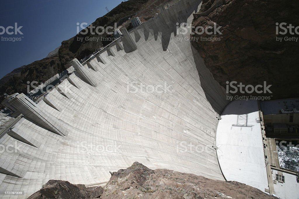 Hoover Dam XXLarge stock photo
