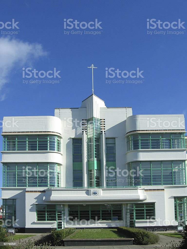 Hoover factory building, London royalty-free stock photo