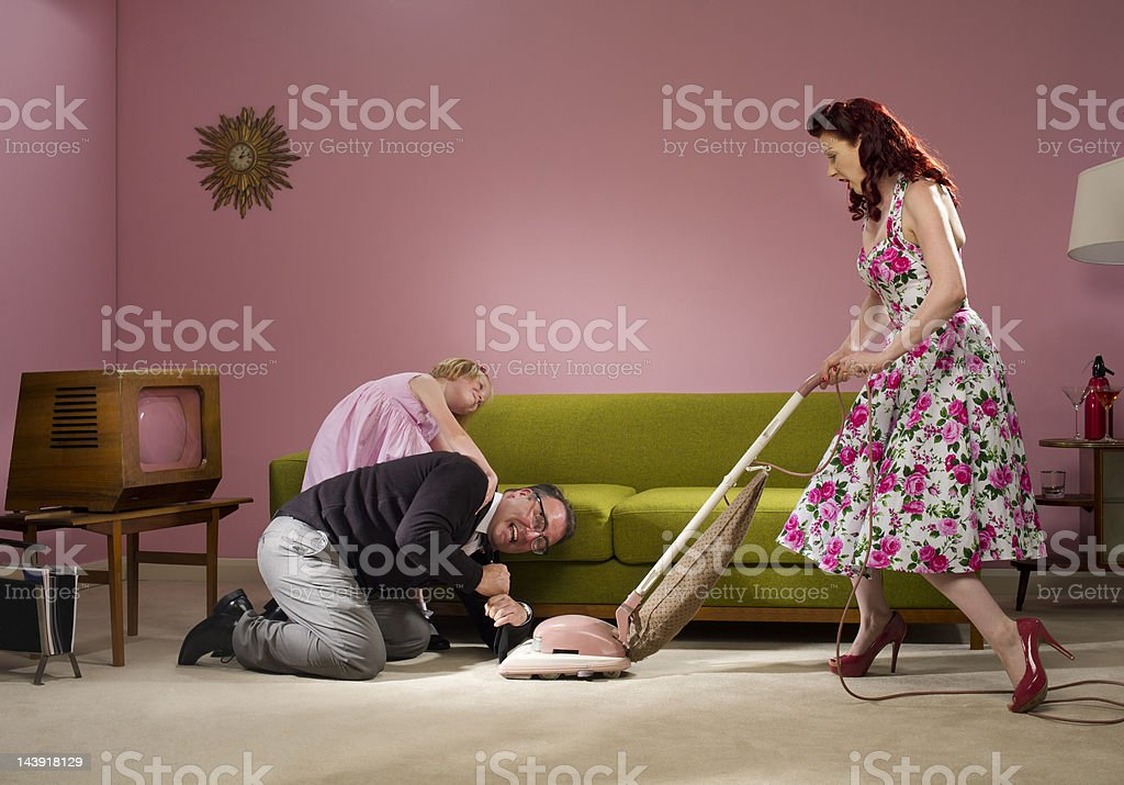 hoover mishap stock photo