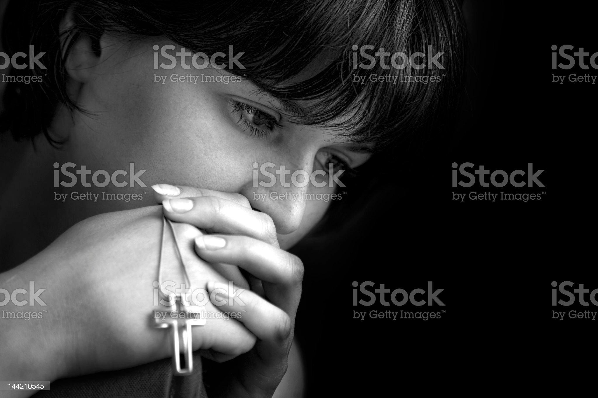 Hope and Prayer royalty-free stock photo