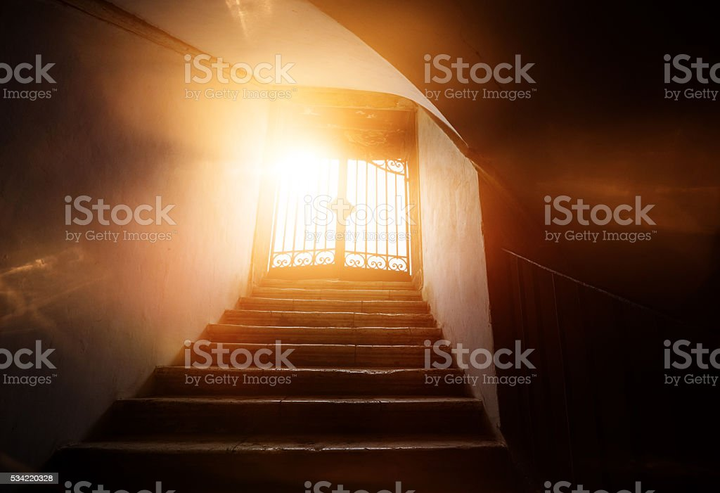 hope and spirituality stock photo
