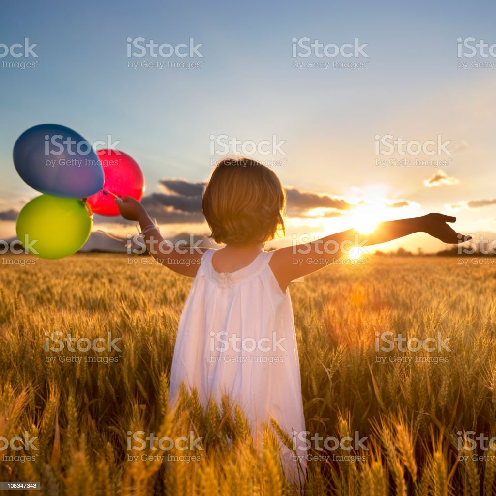 Hope flares royalty-free stock photo