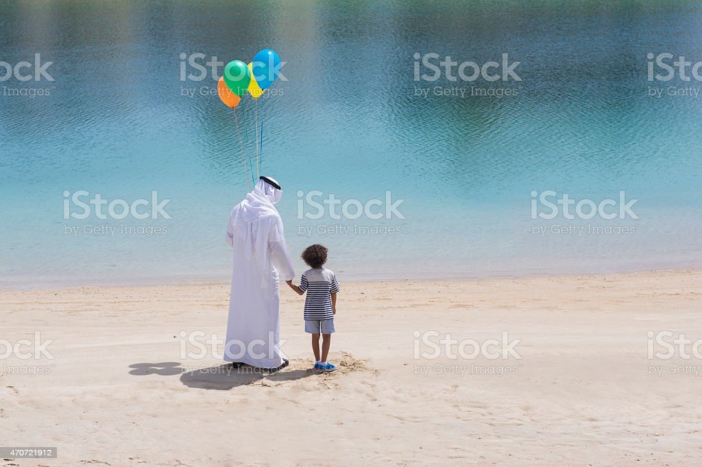 Hope for the future generations stock photo