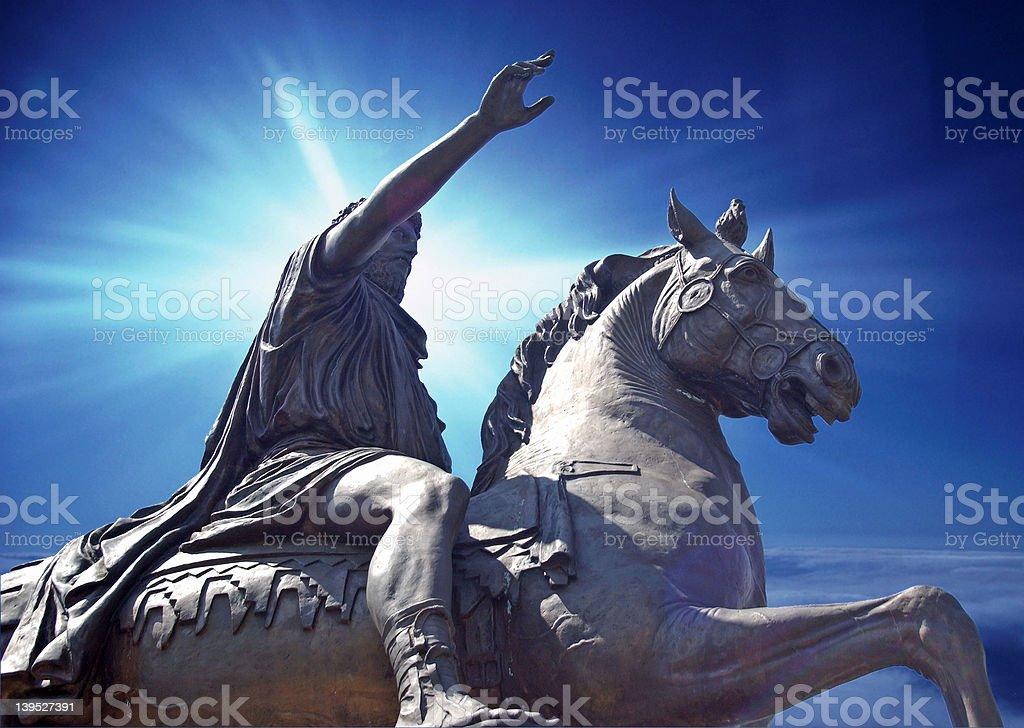 Hope & Glory royalty-free stock photo