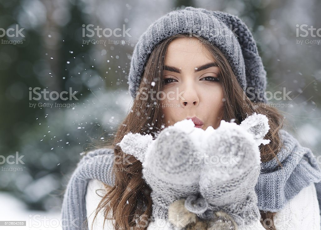 I hope that my dreams comes true stock photo