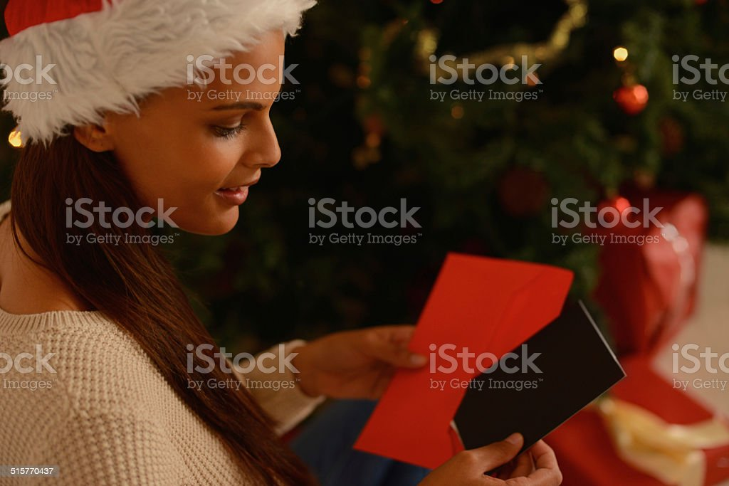 I hope they like this present stock photo