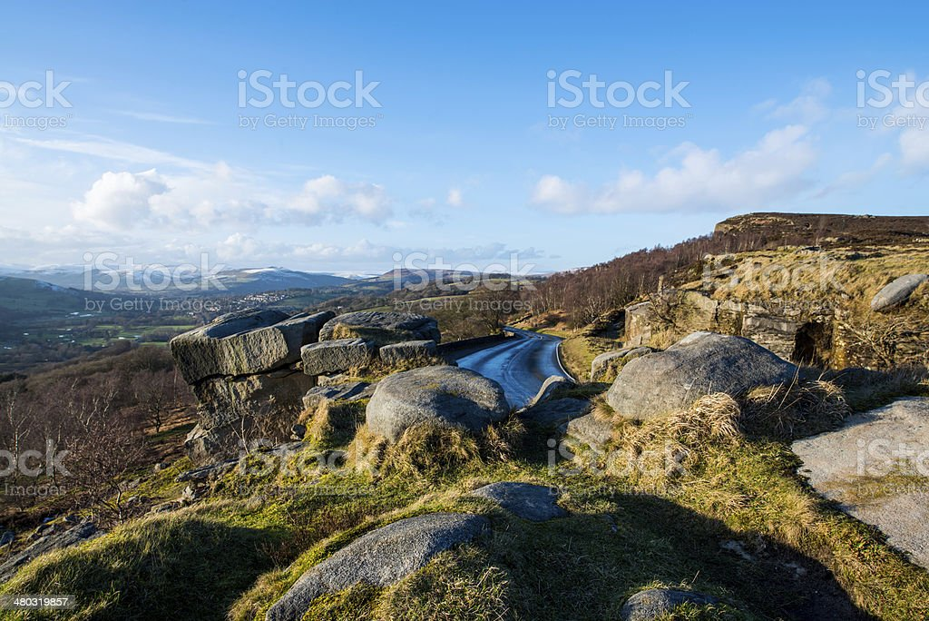 Hope Valley Derbyshire stock photo