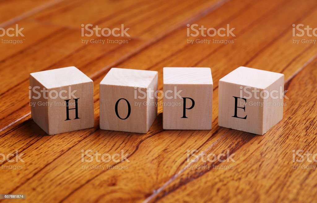 Hope Word Concept stock photo