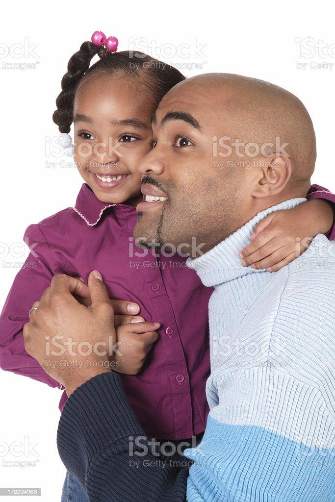 Hopeful Father royalty-free stock photo