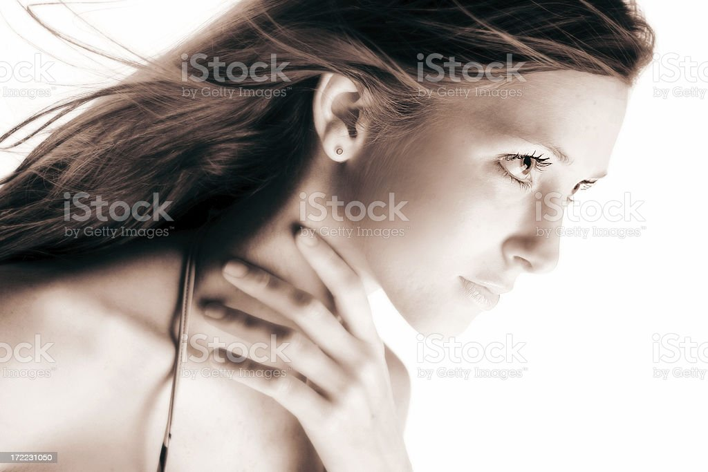 Hopeful Woman royalty-free stock photo