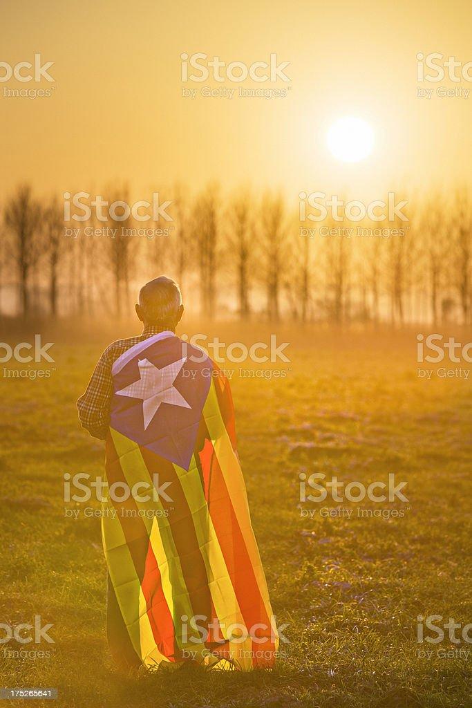 Hopes for Catalonia royalty-free stock photo