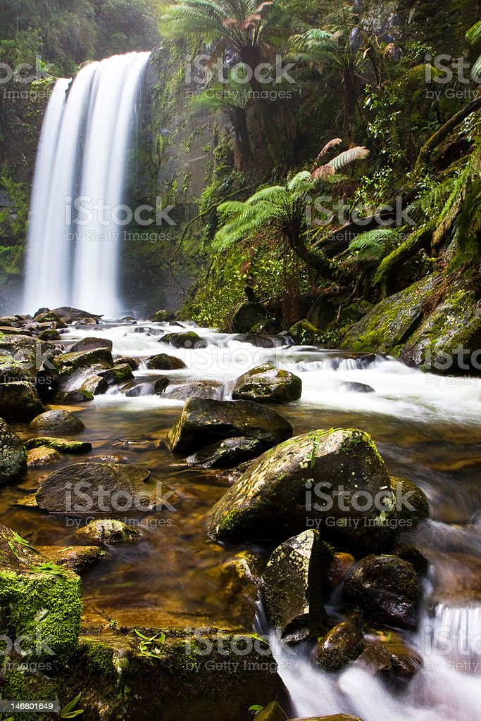 Hopetoun Falls royalty-free stock photo