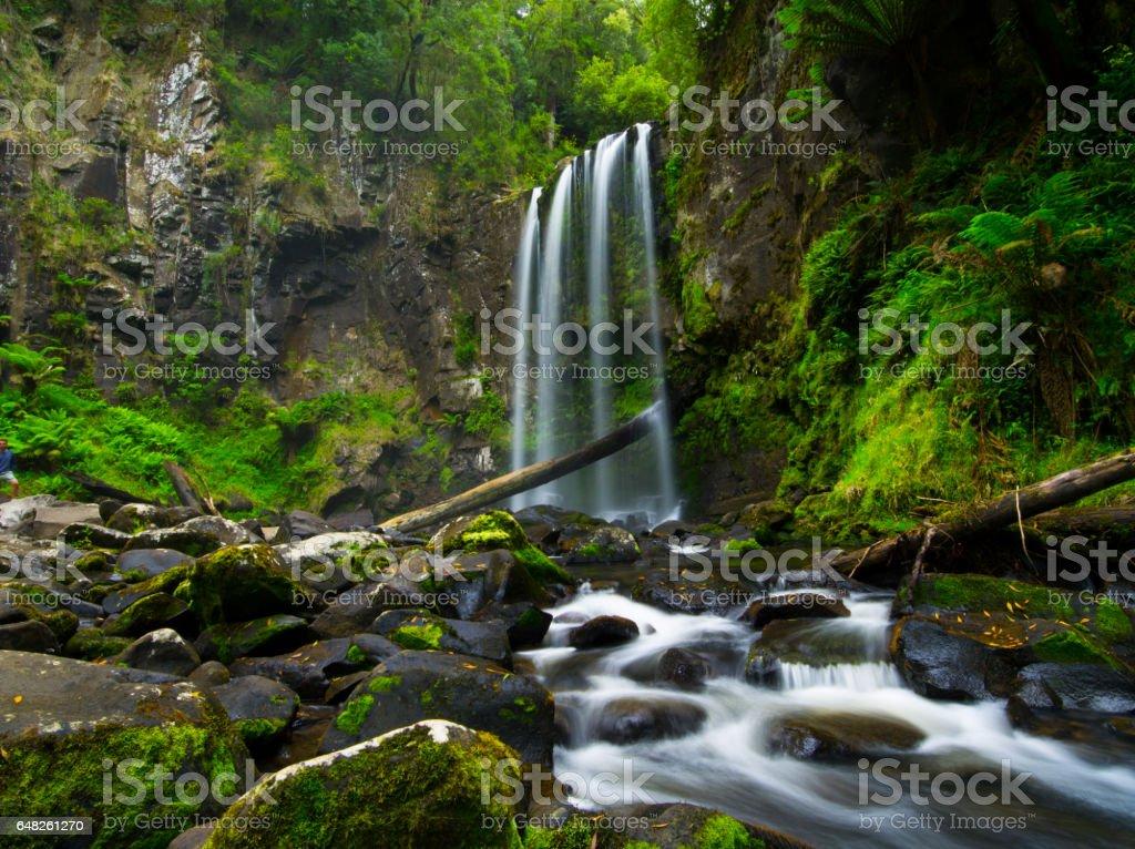 Hopetoun Falls stock photo