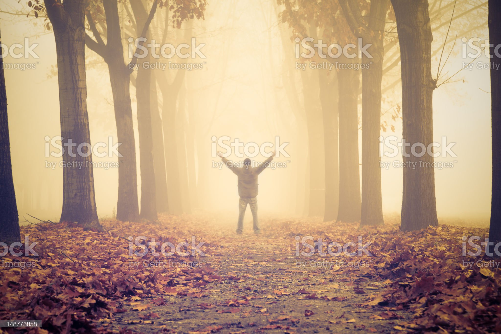 Hoping for a solution royalty-free stock photo
