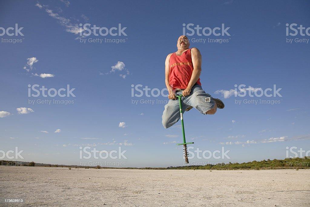 Hopping Mad stock photo