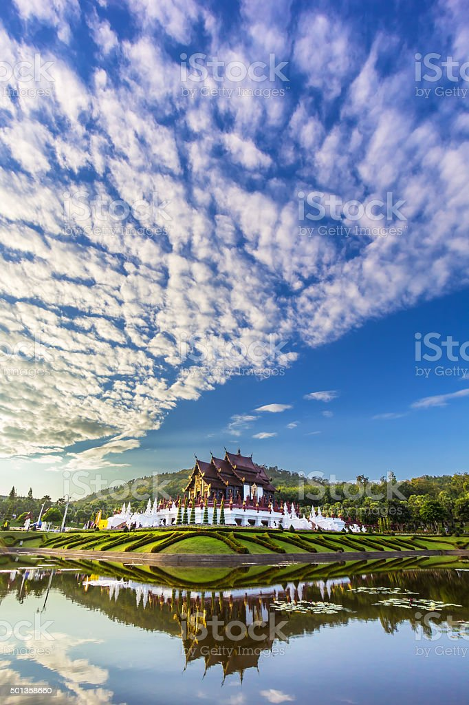 Hor kham luang at Royal Park Rajapruek stock photo