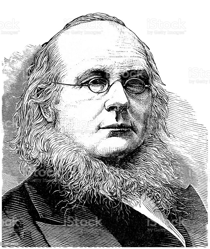 Horace Greeley stock photo