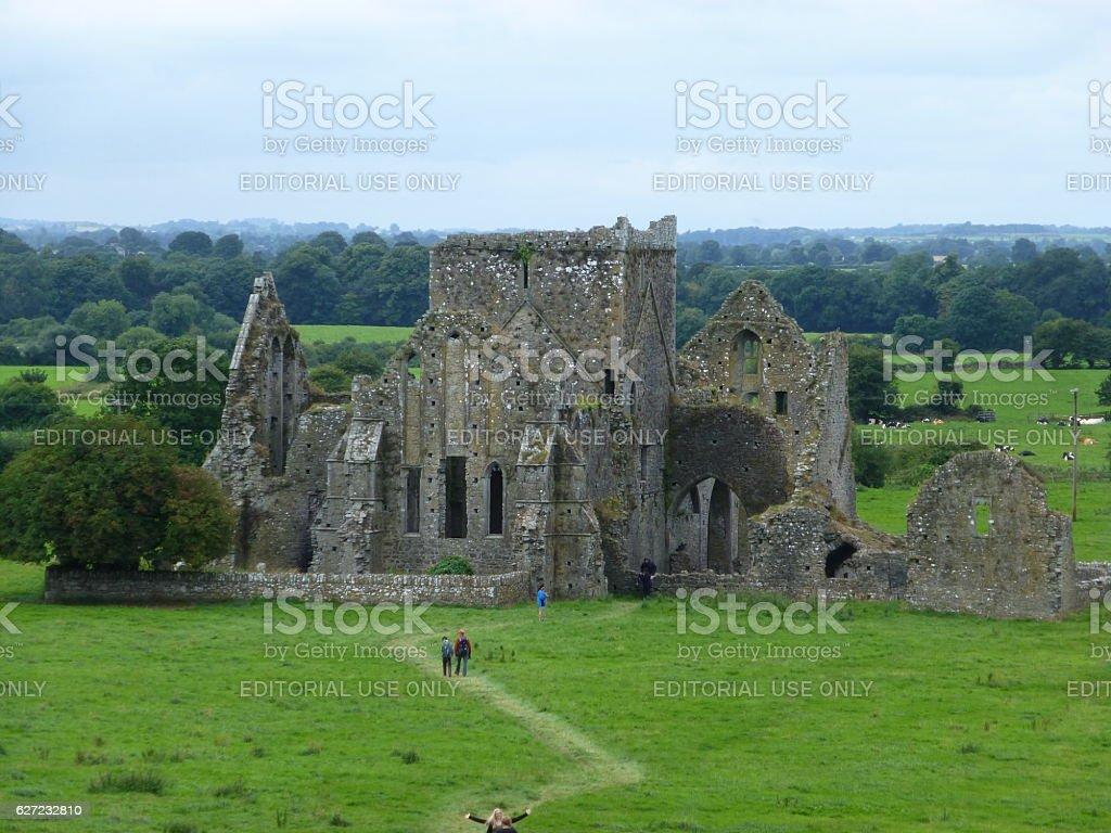 Hore Abbey, Cashel, Ireland stock photo