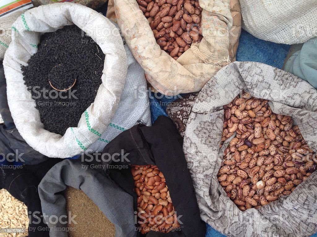 Horicot beans stock photo