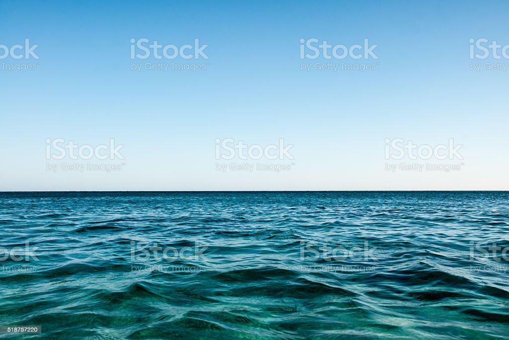 Horizon de mer photo libre de droits