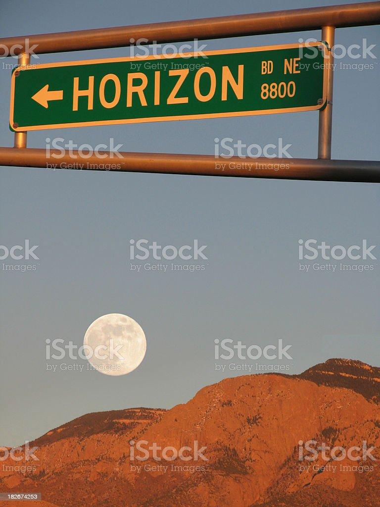 Horizon Boulevard royalty-free stock photo