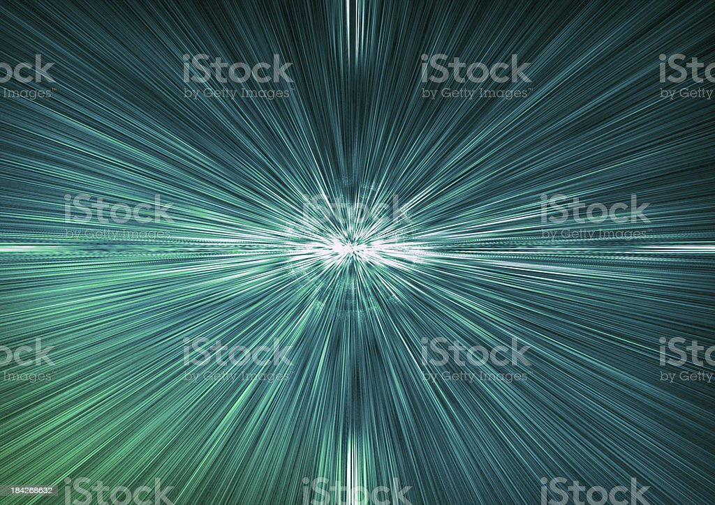 Horizon Lights royalty-free stock photo