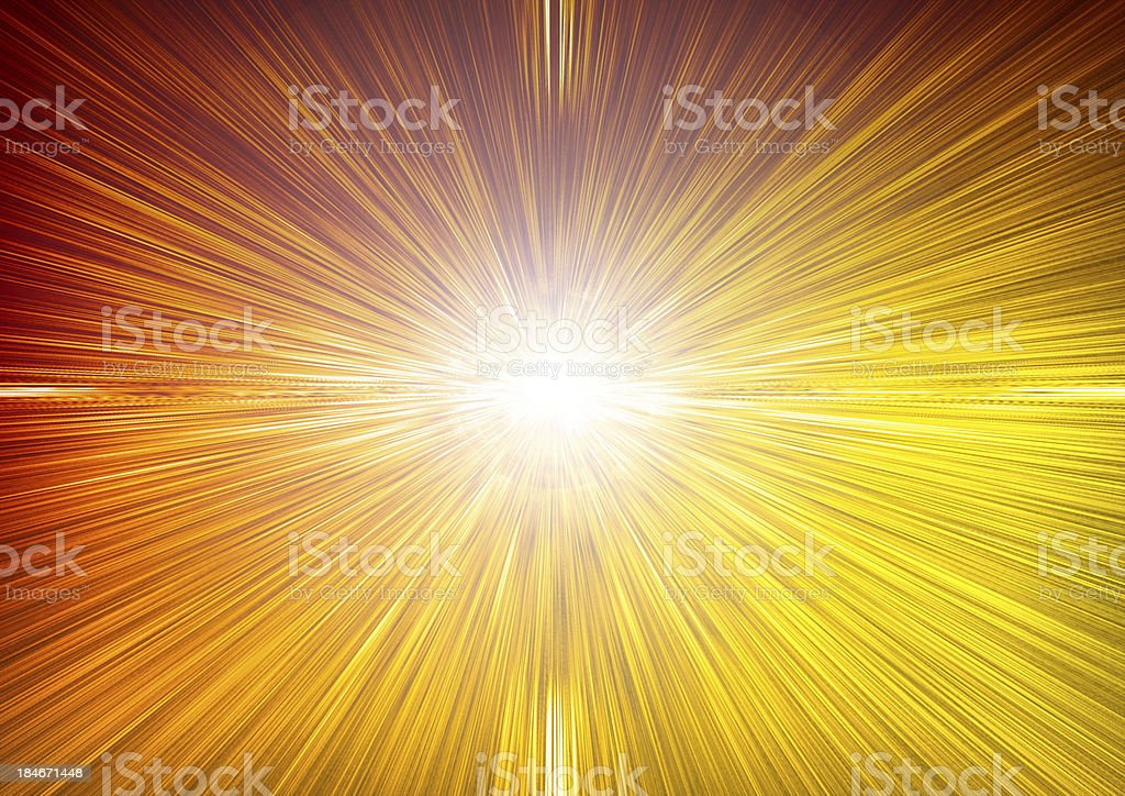 Horizon Lights royalty-free stock photo