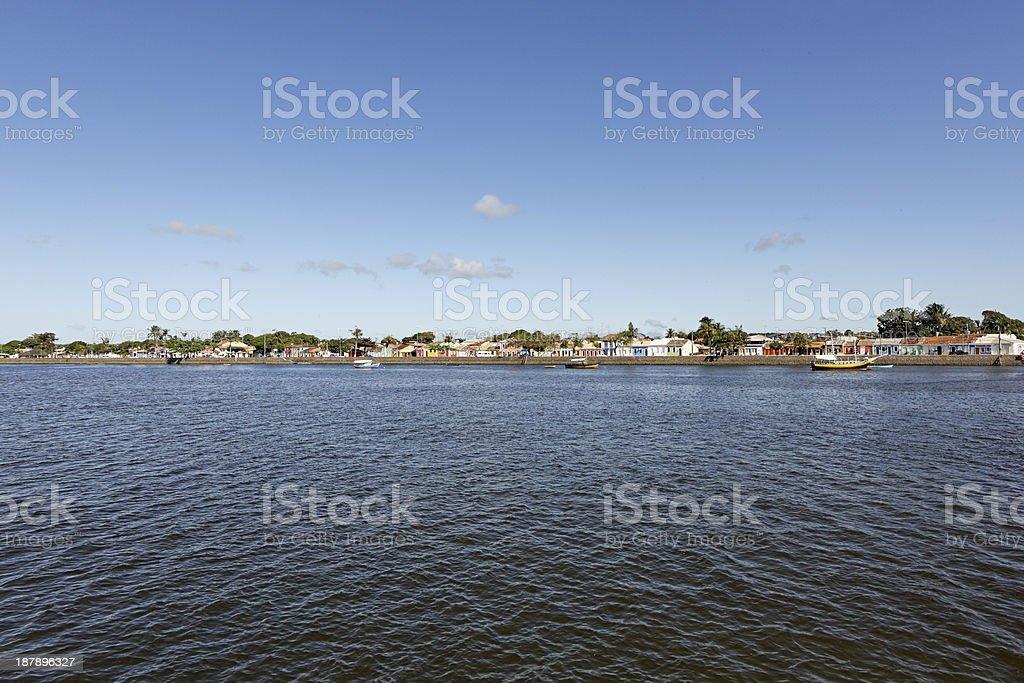 Horizon of Porto Seguro - Bahia, Brasil. stock photo