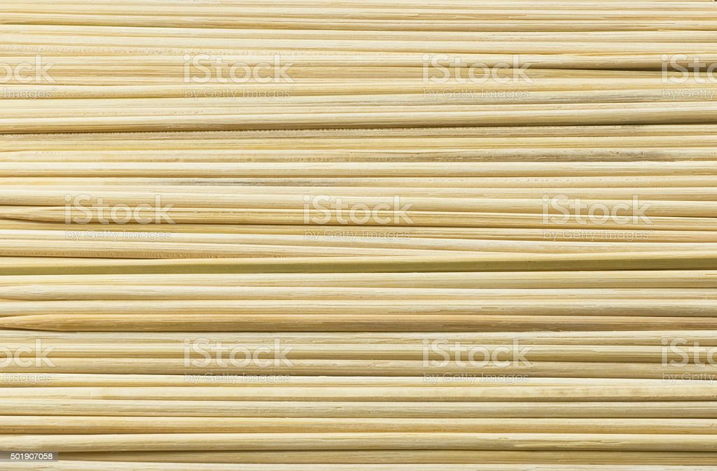 Horizontal Background Made of Brown Wooden Stick stock photo
