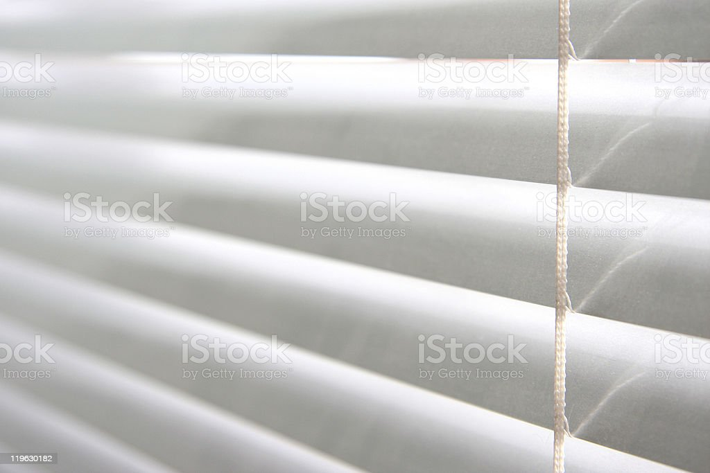 horizontal blinds royalty-free stock photo