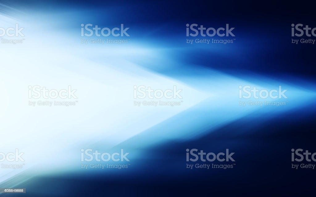 Horizontal blue glow winter light business digital abstraction stock photo