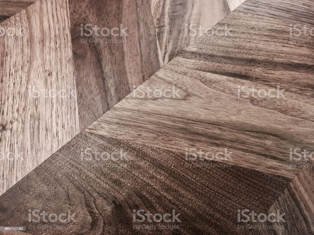 Horizontal Brown Texture Fragment of Parquet Background stock photo