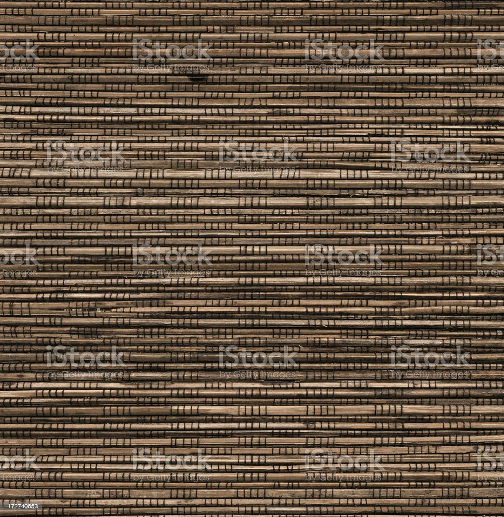 horizontal brown wood strips royalty-free stock photo