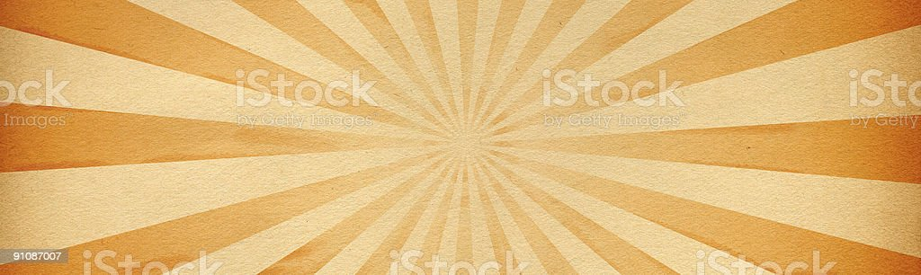 Horizontal Burst Paper royalty-free stock photo