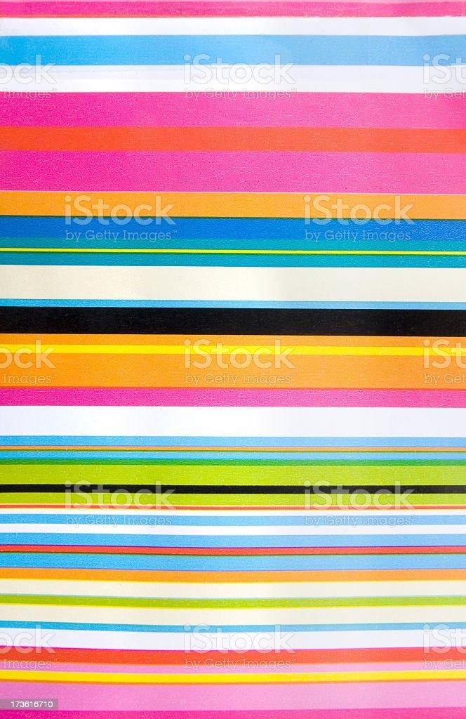 Horizontal candy stripes royalty-free stock photo