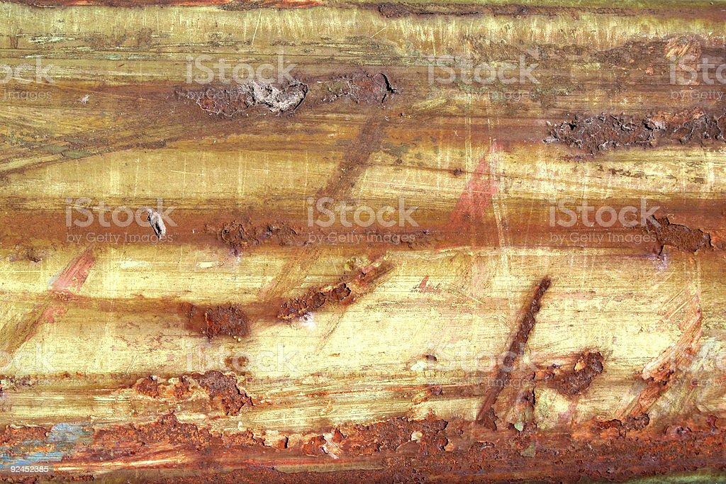 horizontal decay royalty-free stock photo
