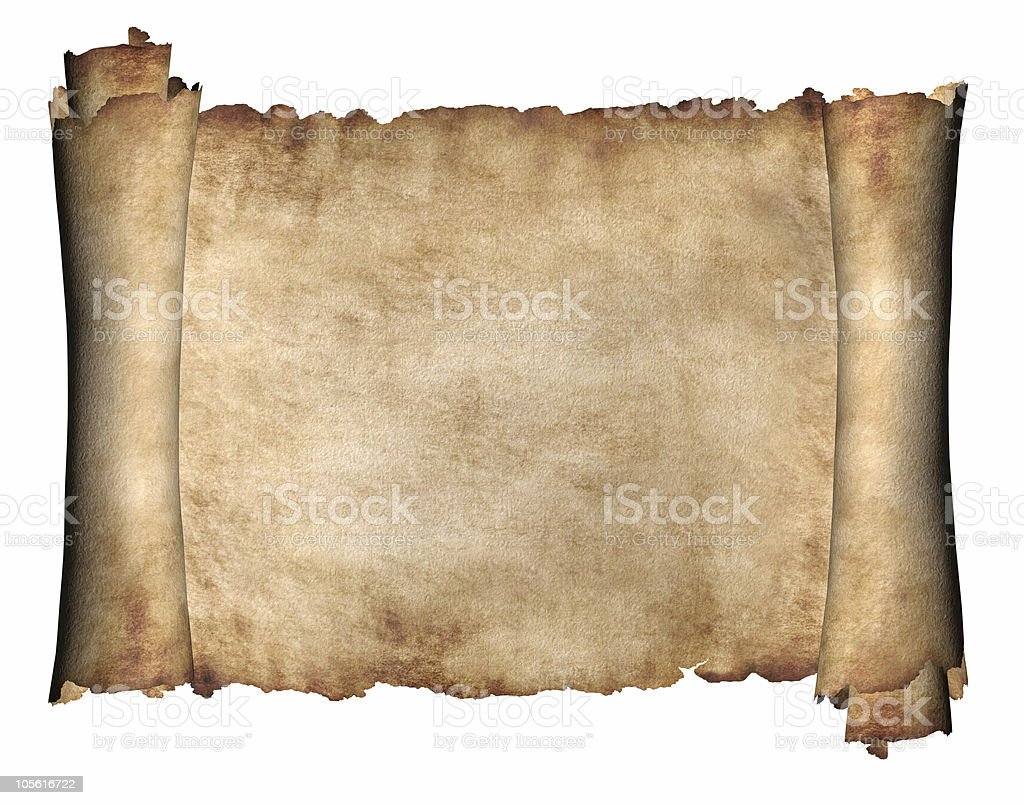 Horizontal Manuscript royalty-free stock photo