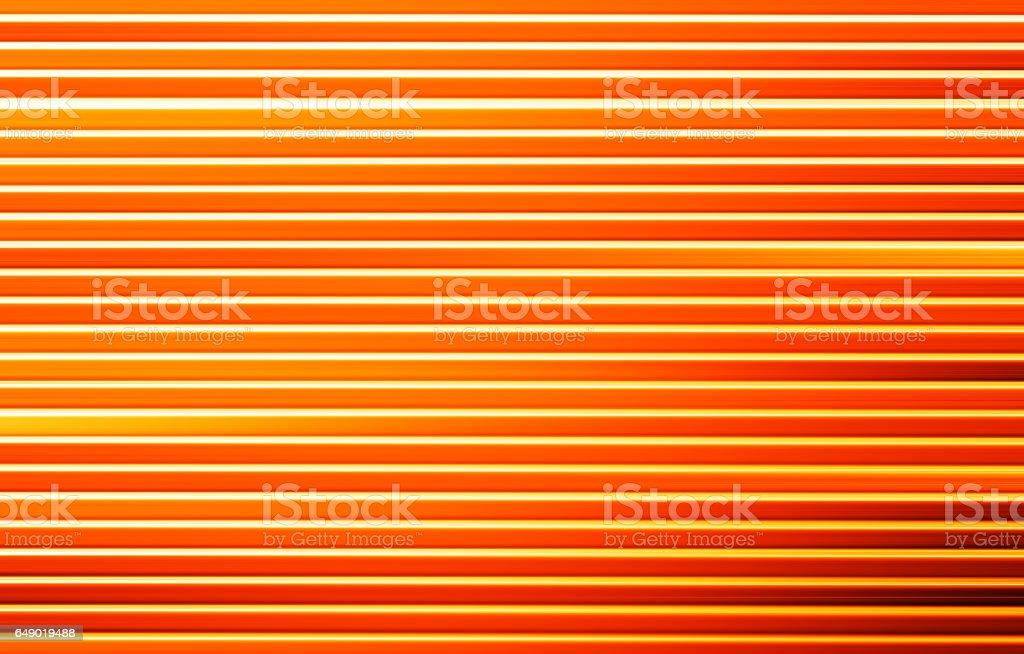 Horizontal motion blur orange background stock photo