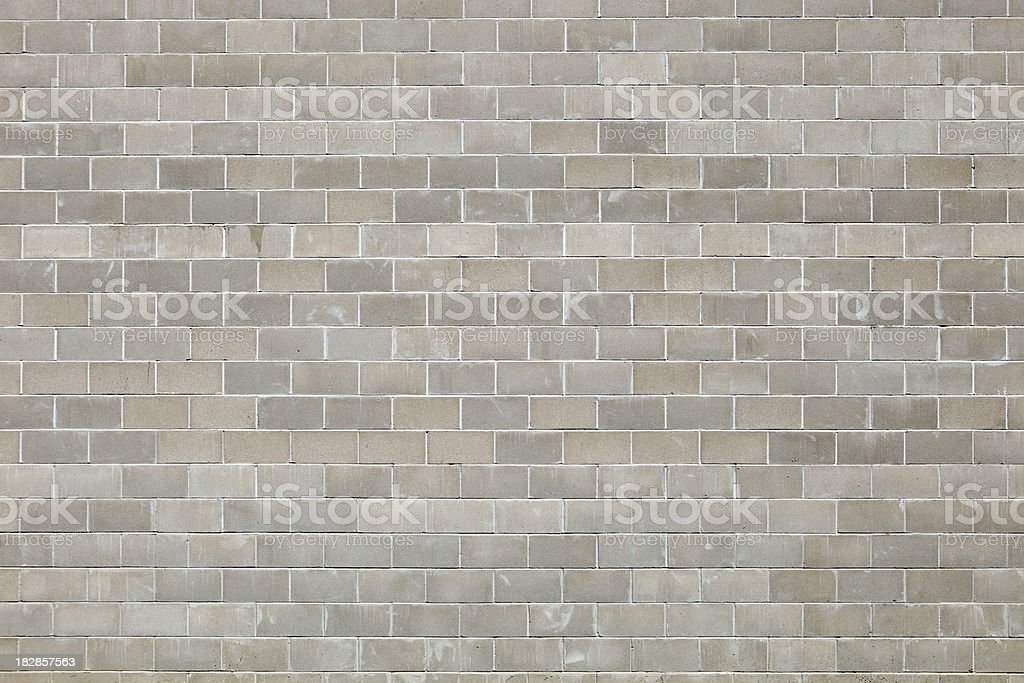 Horizontal New Concrete Block Background royalty-free stock photo