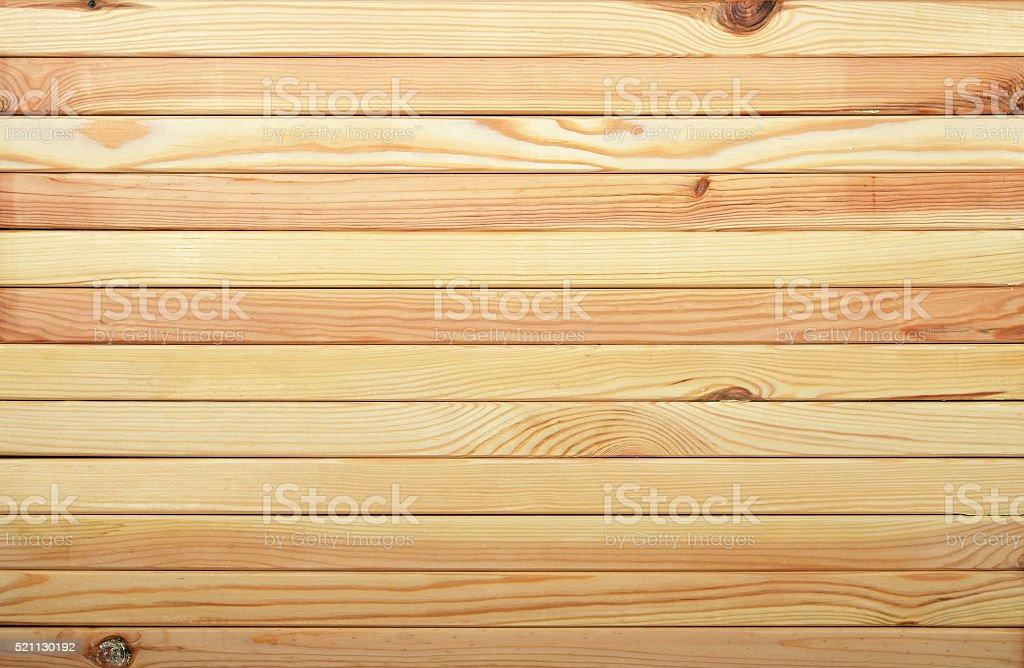 Horizontal pine wooden planks texture royalty-free stock photo