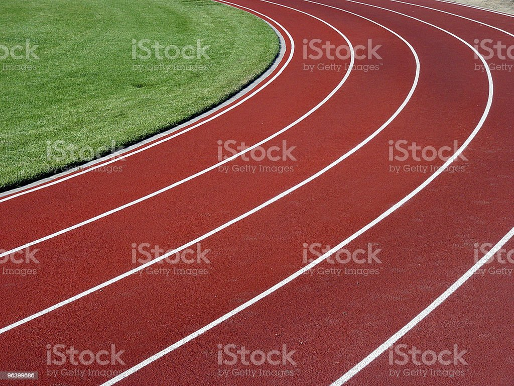 Horizontal racetrack background royalty-free stock photo
