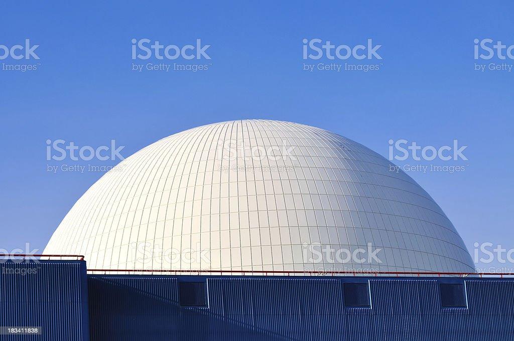 Horizontal reactor dome stock photo