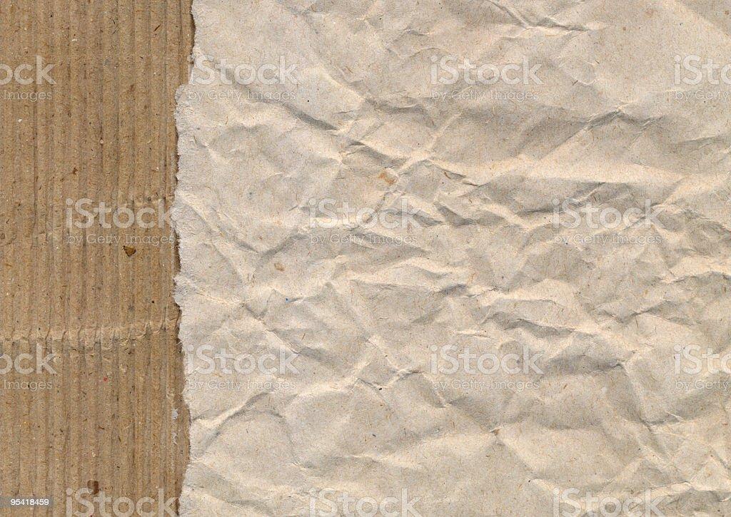 Horizontal ripped paper royalty-free stock photo
