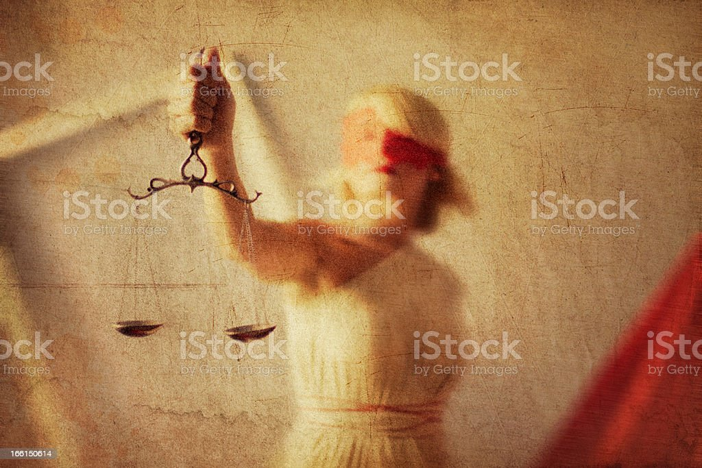 Horizontal themis style photo as a painting royalty-free stock photo
