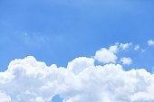 Horizontal tropical sky composition
