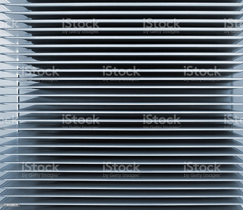 Horizontal Vent Background stock photo