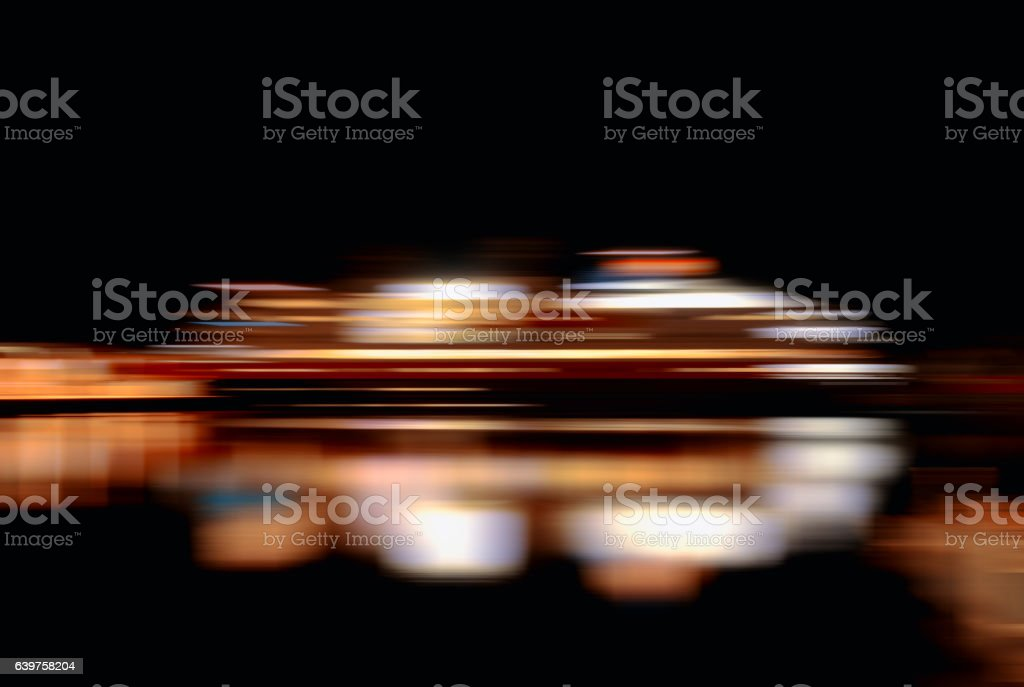 Horizontal vibrant vivid moving ship abstraction background back stock photo