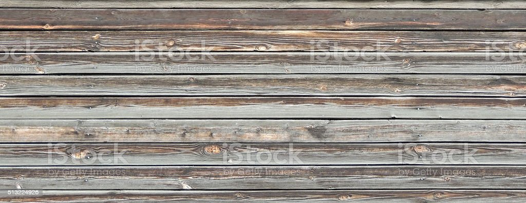 Horizontal wooden planks background. stock photo