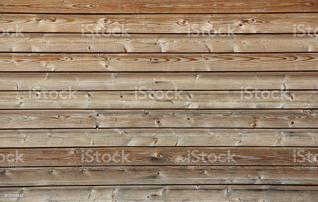 horizontal wooden planks with no paint, texture stock photo